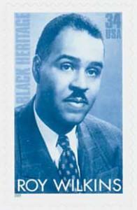 US #3501 Roy Wilkins