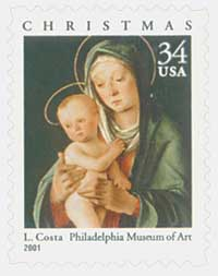US #3536 Madonna and Child