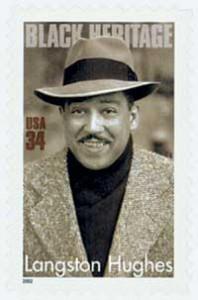 US #3557 Langston Hughes
