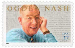 US #3659 Ogden Nash