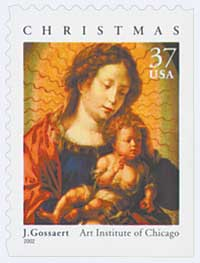 US #3675 Madonna and Child