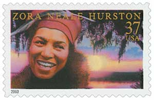 US #3748 Zora Neale Hurston