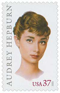 US #3786 Audrey Hepburn