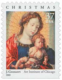US #3820 Madonna and Child