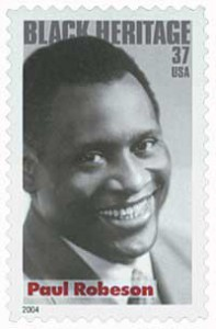 US #3834 Paul Robeson
