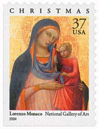 US #3879 Madonna and Child