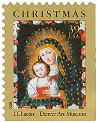 US #4100 Madonna and Child