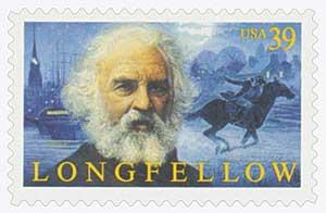 US #4124 Henry Wadsworth Longfellow