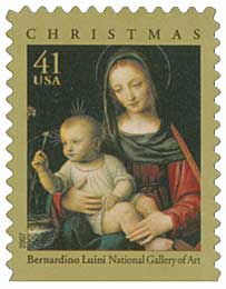 US #4206 Madonna and Child