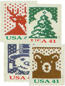 US #4211-14 2007 Holiday Knits