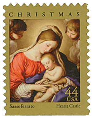 US #4424 Madonna and Sleeping Child
