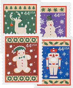 US #4425-28 2009 Winter Holidays