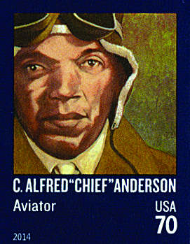 """US #4879 C. Alfred """"Chief"""" Anderson"""