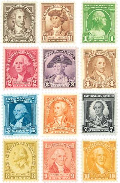 U.S. #704-715
