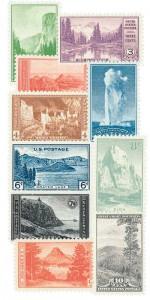 U.S. #740-49
