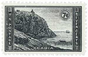 US #746 Acadia, Maine
