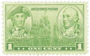 US #790 Jones & Barry