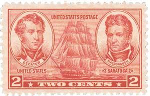 US #791 Decatur & MacDonough