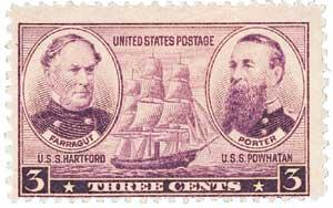 US #792 Farragut & Porter