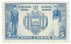 US #794 Seal of US Naval Academy