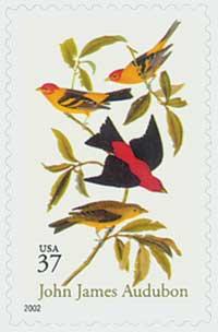 US #3650 John James Audubon