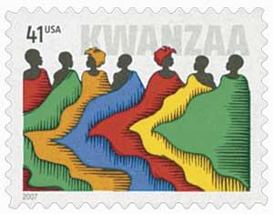 US #4220 2009 Kwanzaa with 41¢ denomination