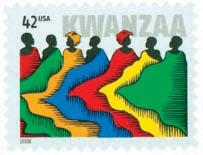 US #4373 2008 Kwanzaa with 42¢ denomination