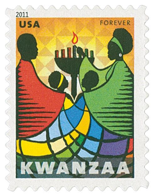 US 34584 2011 Kwanzaa