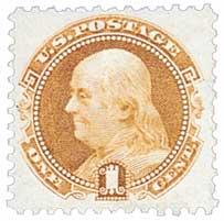 US #112 Franklin