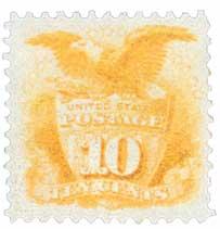 US #116 Shield and Eagle