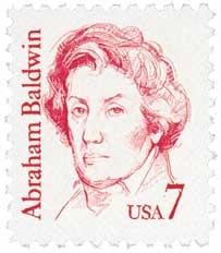 Abraham Baldwin Statesman