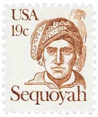 Sequoyah Cherokee Indian