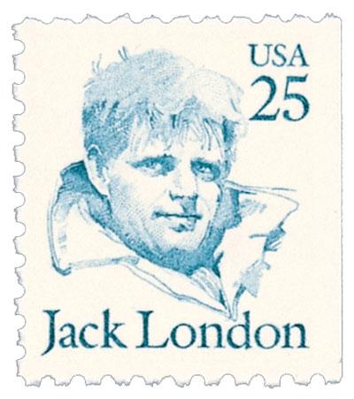 Jack London Booklet Stamp