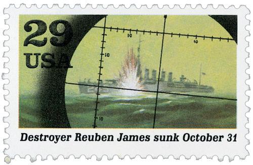 Reuben James Sunk