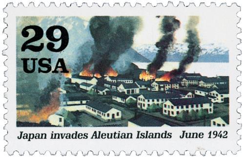 Aleutian Islands Invaded
