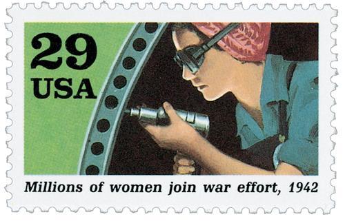 Women Join War Effort