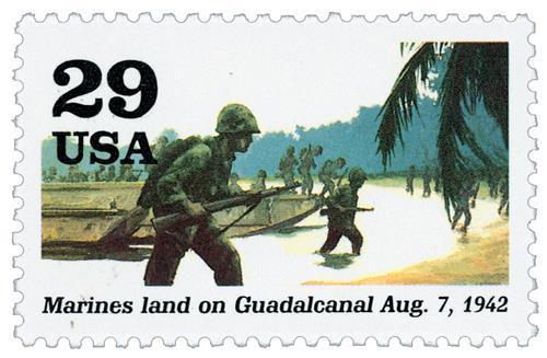 Marines at Guadacanal