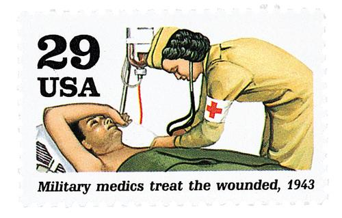 Medics Treat the Wounded
