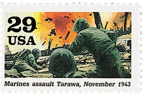 Marines Assault Tarawa