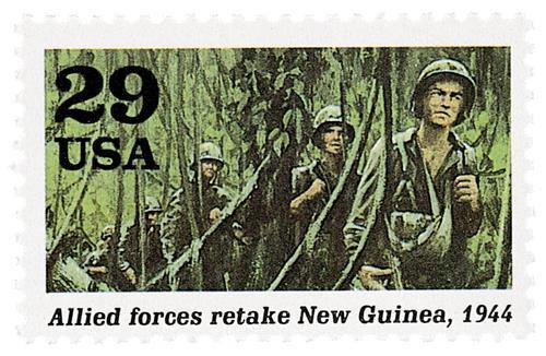 Allies Retake New Guinea