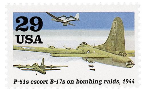 B-17s on Bombing Raids