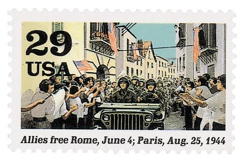 Rome and Paris Liberated