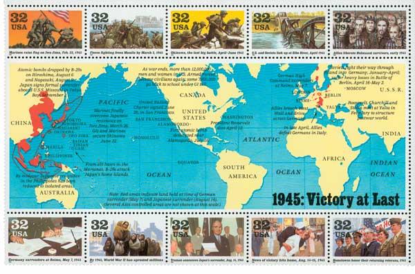 US #2981 1945: Victory at Last