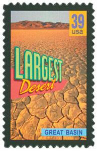 2006 39c Great Basin, Largest Desert stamp