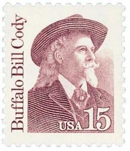 Buffalo Bill Cody stamp