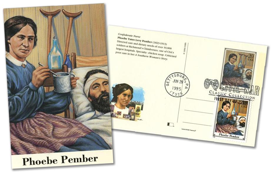 1995 Pember Postal Card